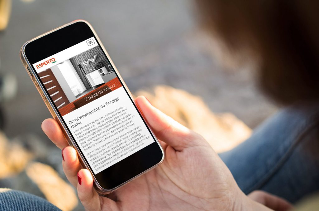 mobilna strona internetowa esperto line