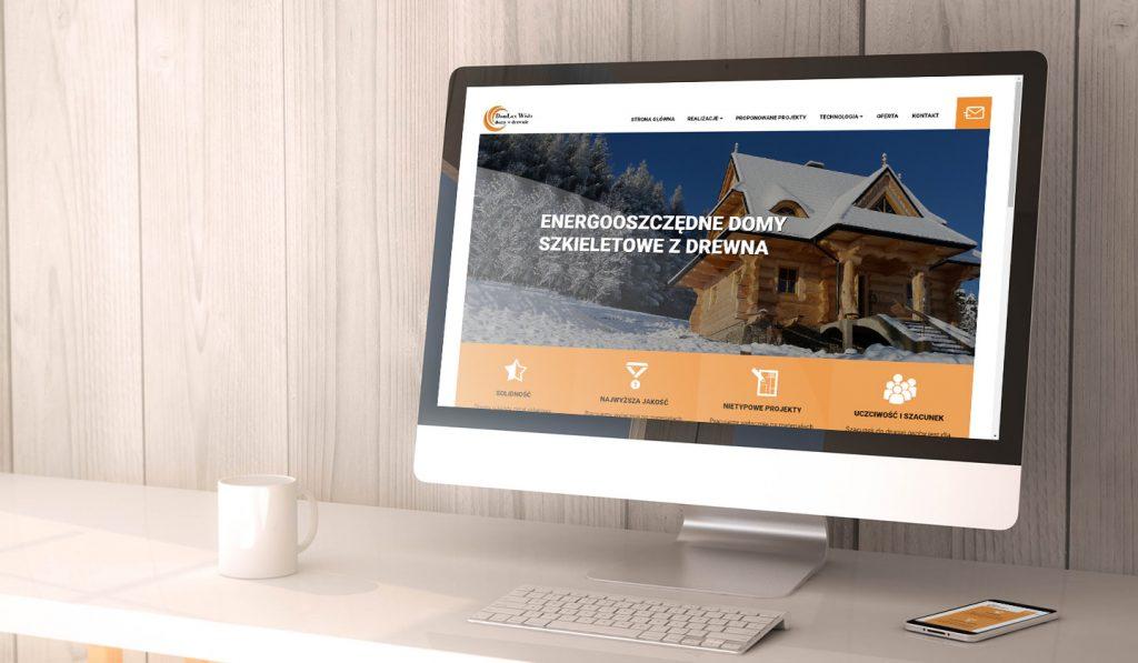 strona internetowa domy drewnianen