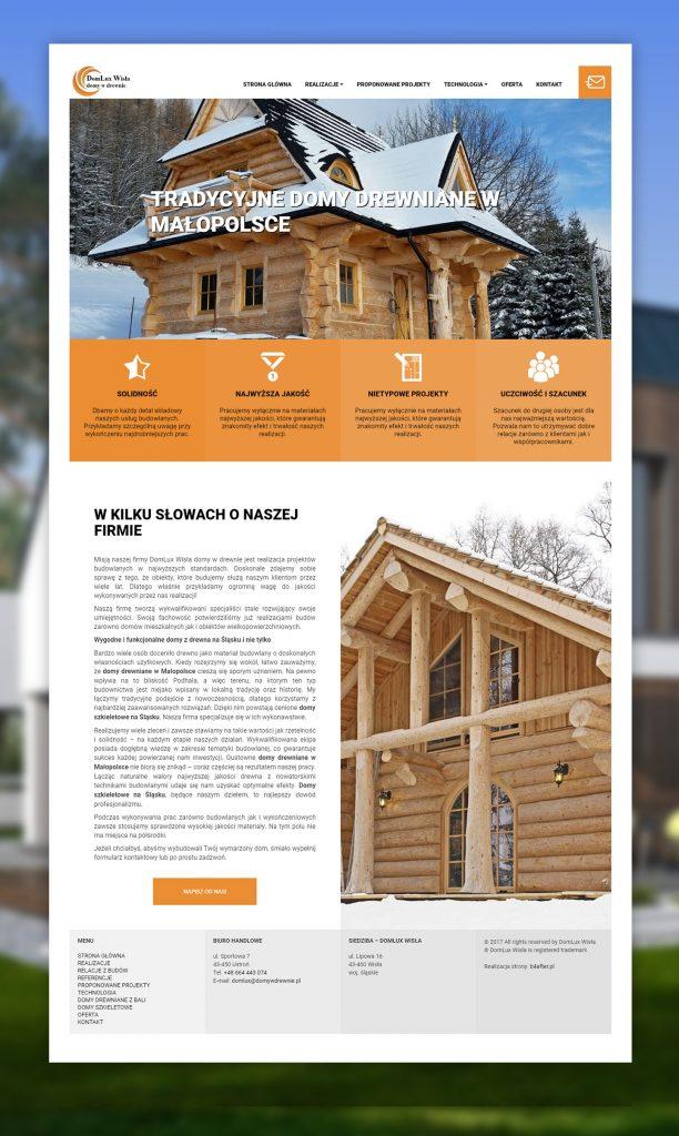 strona internetowa domy w drewnie