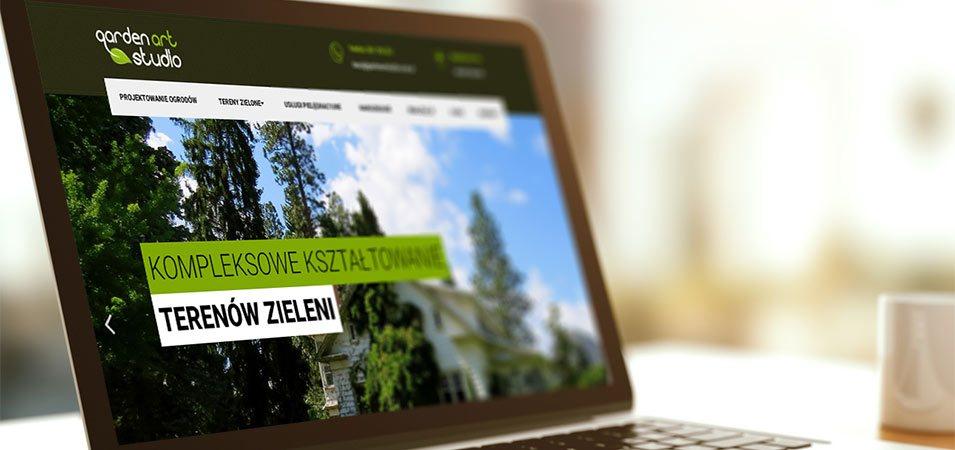 strona internetowa gardenartstudio
