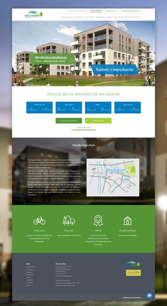 strona www maltapark home