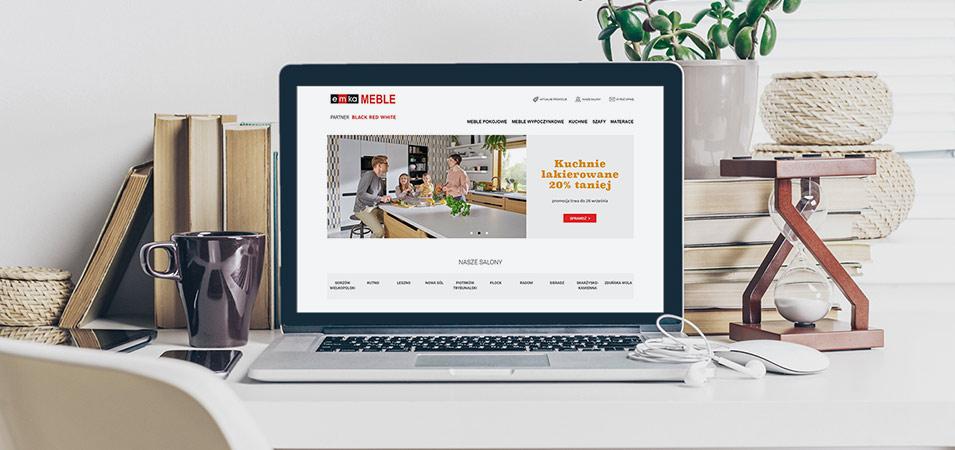 stworzenie strony internetowej emka meble