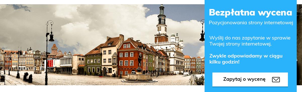 Pozycjonowanie stron Poznań