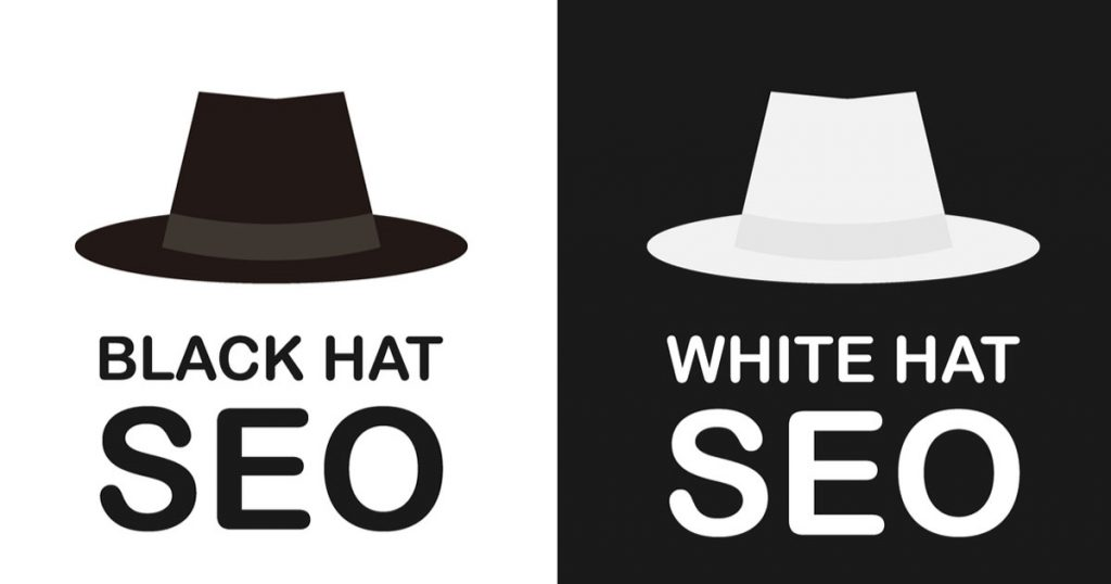 black hat seo white hat seo